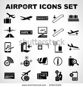 stock-vector-airport-sign-airport-icons-set-129219326